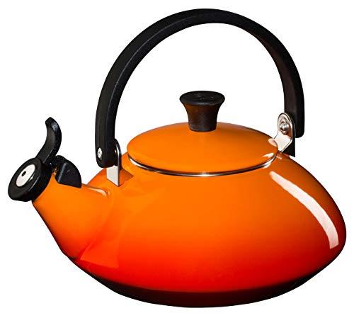 Le Creuset Enamel On Steel 1.6 Qt. Zen Tea Kettle Color, Fla
