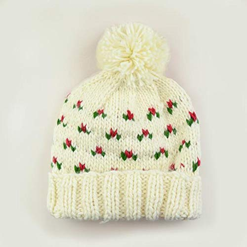 The Blueberry Hill Kendall Holly Hat (Large- 8 Years and up) Cream