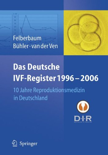 Das Deutsche IVF - Register 1996 - 2006: 10 Jahre Reproduktionsmedizin in Deutschland (German Edition) by Springer