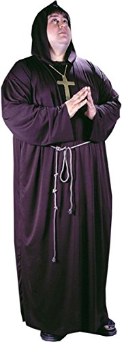 [Morris Costumes Monk Plus Size] (Plus Size Hooded Monk Robe Costumes)