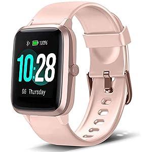 Montre Connectée Intelligente Smartwatch Femmes Homme Tactile Bracelet Connecté Etanche Tracker d'Activité…