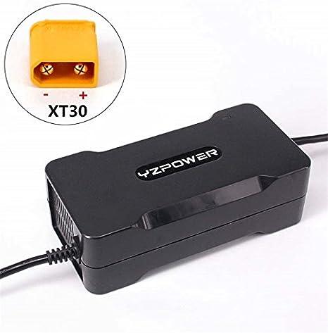 YZPOWER 54.6V 4A Cargador de batería de Litio para 13S 48V ...
