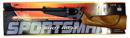 (Parris 8 Shot Rifle Airsoft Fake Sportsman Toy Gun)