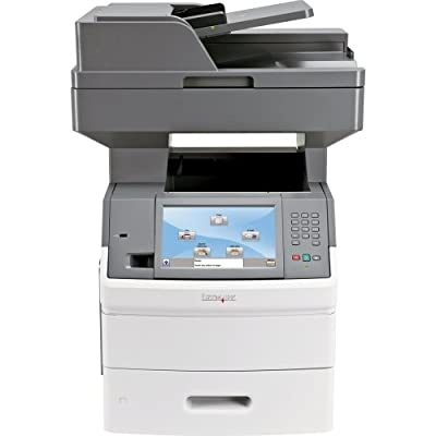 Lexmark International, Inc - Lexmark X650 X654de Laser Multifunction Printer - Monochrome - Plain Paper Print - Desktop - Copier/Fax/Printer/Scanner - 55 Ppm Mono Print - 1200 X 1200 Dpi Print - 55 Cpm Mono Copy - Touchscreen - 600 Dpi Optical Scan - Auto