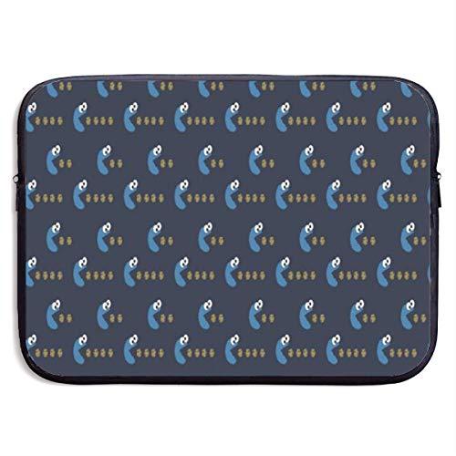 JHGNUHPL Cookie Monster Portable Laptop Bag Handbag Carrying Case Neoprene 13