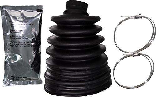 APDTY 725114 Uni-Fit C.V. Joint Boot Kit Outer greater than 3.58 In. Diameter ()