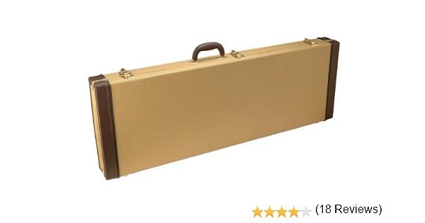 On Stage Stands GCE6000T - estuche para guitarra marrón: Amazon.es: Electrónica