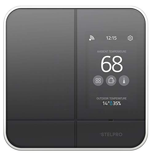 Stelpro ASMC402 Smart Home Wi-Fi Controller Thermostat Adds Maestro Connectivity to Line Voltage Electric Baseboards, Convectors, and Fan Heaters ()