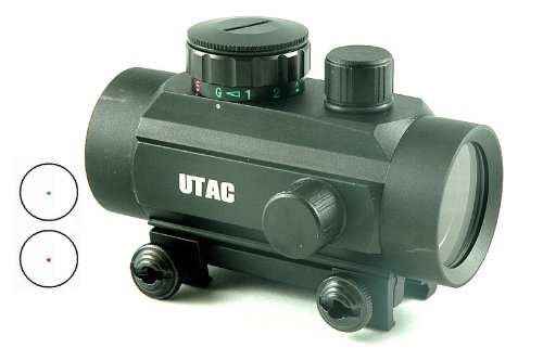 UTAC® Red-Green Dual-Color Reticle Red Dot 1