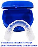 TUFF BRUX Bruxism Custom Made Teeth Grinding Guard - Extra Thick Soft Custom Teeth Night Mouth Guard For Teeth Grinding and Clenching - Bite Splint Teeth Guard