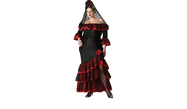 Disfraz de goyesca para mujer talla grande: Amazon.es: Ropa ...