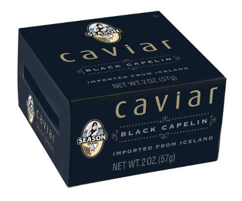 Season Black Capelin Caviar (2 Ounce) 2 Pack