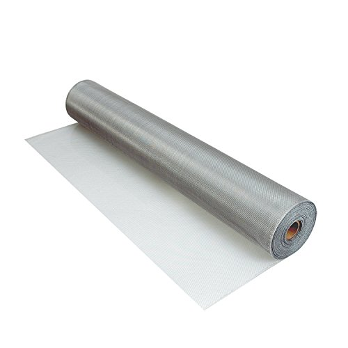 Aluminum Screen Insect (Phifer 3016850 Aluminum Screen Brite Tube, 48