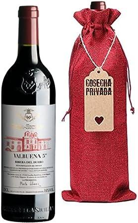 Valbuena 5 Año - Botella Regalo - Vega Sicilia - Vino Tinto - Ribera del Duero - Seleccionado y enviado por Cosecha Privada