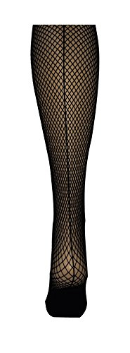 Capezio Professional 3400.Seamed Fishnet Tights. (SM, Black)