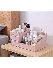 Tangzhan Pudełko do przechowywania kosmetyków, organizer na kosmetyki, wszechstronne pudełko do uporządkowania kosmetyków do makijażu, do przechowywanie biżuterii, pojemnik na lakier do paznokci z szufladami