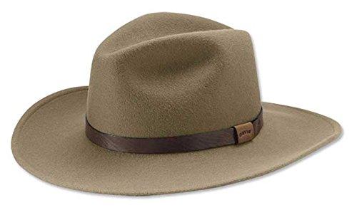 Orvis Men's Bison Band Westwood Hat, Medium Brown