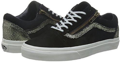 Baskets Skool Vans Black Gold Zip Old Femmes xU5q5RfI