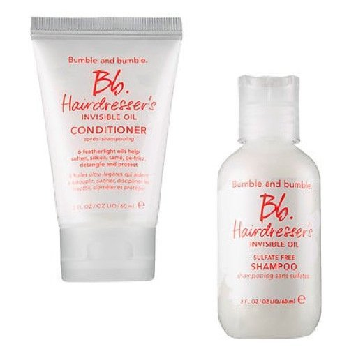 (Bumble and Bumble Invisible Oil Shampoo and Conditioner Travel Duo)