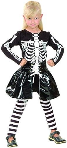 Disfraz de esqueleto niña - 4 - 6 años: Amazon.es: Juguetes y juegos