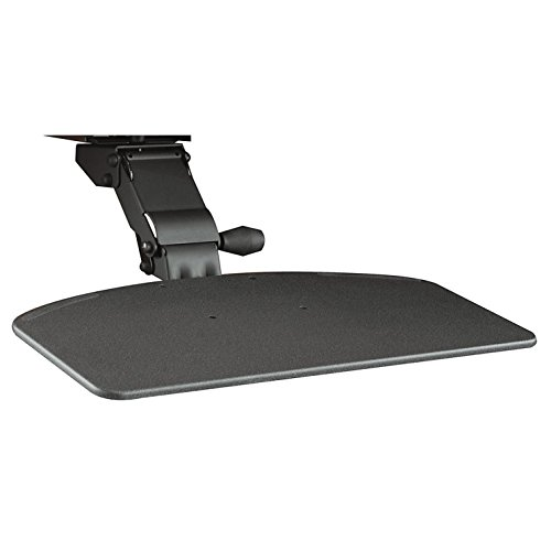 Ergonomic Drawers Keyboard (Bush Business Furniture Articulating Keyboard Tray with Galaxy Finish)