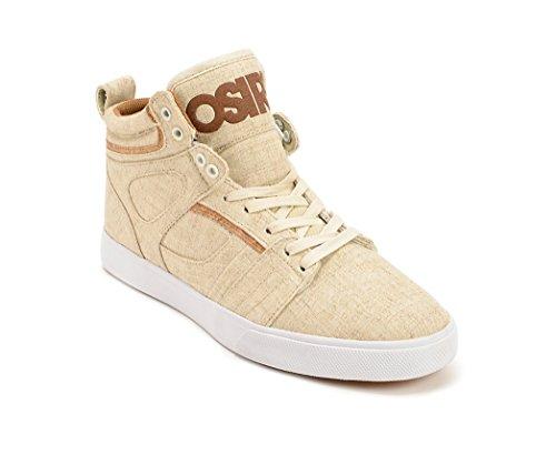 Osiris Raider Men's Skate Shoes (11, Cream/Brown/Cork)