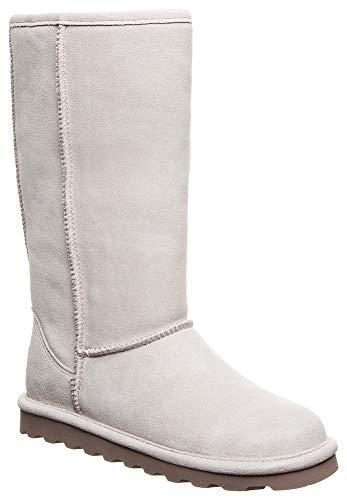 BEARPAW Womens Elle Tall Boot, Winter White, Size 7