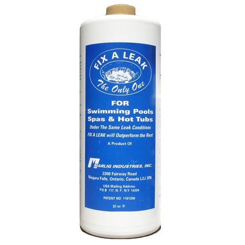 Marlig FIXALEAK32 Fix-A-Leak Pool or Spa 32 Oz Liquid ()