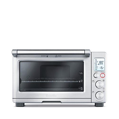 Breville BOV800XL Smart Oven 1800-Watt Convection Toaster Oven with Element IQ, Silver