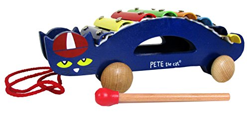 Pete The Cat Pull Along Wooden Xylophone, 13