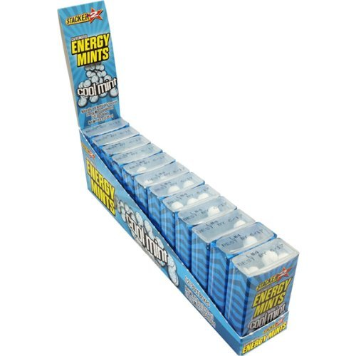 Stacker 2 Energy Mints - Cool Mint - Case 9 Packs