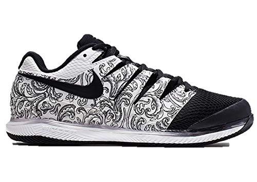 Nike Womens Zoom Vapor X Tennis Shoes (8.5 B US, White/Black)