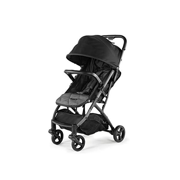 Summer 3Dpac CS Compact Fold Stroller, Black – Compact Car Seat Adaptable Baby Stroller – Lightweight Stroller