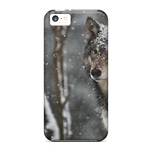 Ideal Ourcase88 Cases Covers For Iphone 5c(proud To Be A Wolf), Protective Stylish Cases