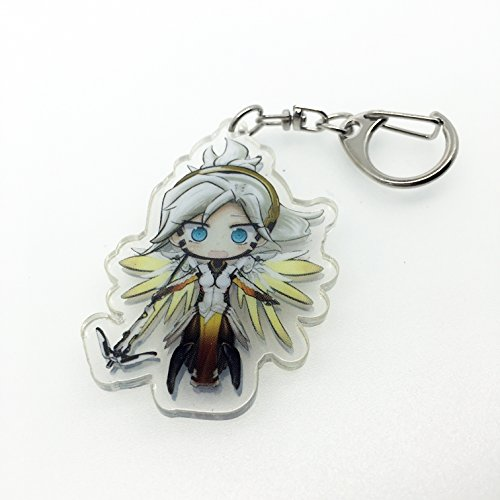 Overwatch Cute Key Chain (Mercy-1)