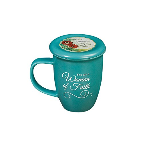 Woman of Faith Mug and Coaster Set
