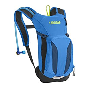 CamelBak Kid's 2016 Mini M.U.L.E. Hydration Pack, Electric Blue/Poseidon