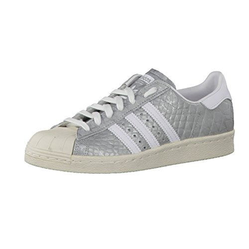 Adidas Originals Super Star Ii Scarpe Da Ginnastica Argento Unisex-grown