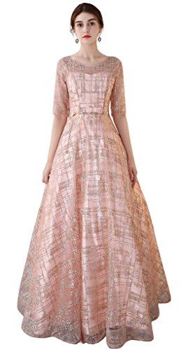 法律温帯通信するパーティードレス 二次会衣装 プリンセス sweet 発表会演奏会 結婚式 ロング 袖あり 優雅 カラー ブライズメイド ウェディングドレス