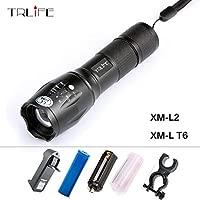 6000LM XM-L T6 LED Flashlight Torch 3 modes+Battery+Charger UK RLTS