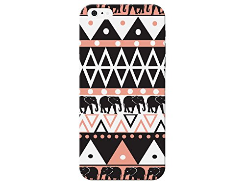 (Primitive Aztec Style Elephant Phone Back Cover For Apple Iphone 6 Case By iCandy Products)
