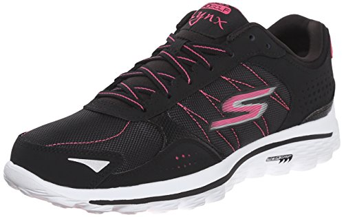 Skechers Performance Womens Go Golf Lynx Balistic Golf Shoe Black/Hot Pink