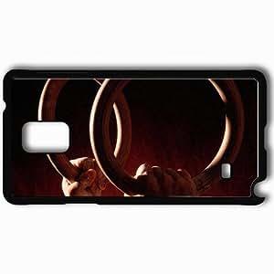 Personalized Samsung Note 4 Cell phone Case/Cover Skin 2307 1 Black WANGJING JINDA
