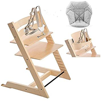 Amazon Com Stokke Tripp Trapp With Baby Set White Mini Baby