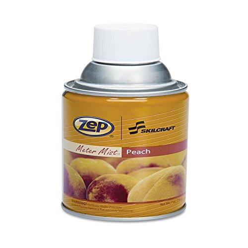 SKILCRAFT 6840013684785 Skilcraft Zep Meter Mist Refills, Peach, 10oz, 12/box by NIB - NISH