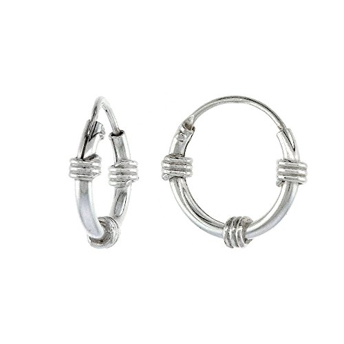 Sterling Silver Endless Earrings Cartilage