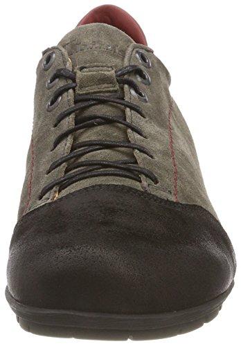 383073 Menscha Zapatos 21 Derby de Kombi para Cordones Vulcano Mujer Gris Think q65wdEUq