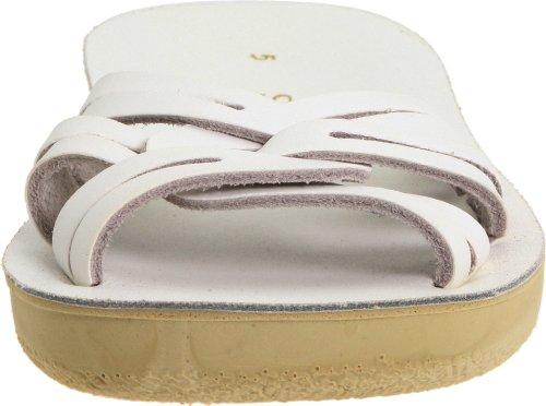 Strappy Water Kid Women's Kid Slide Salt Big Hoy Shoe Toddler Sandals Little White OfwxCIxq1