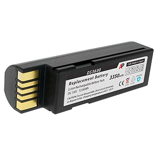 Batteries Zebra Replacement - Artisan Power Zebra 3600 Series Scanners (DS3678, LI3678, LS3678) Replacement Battery. 3350 mAh