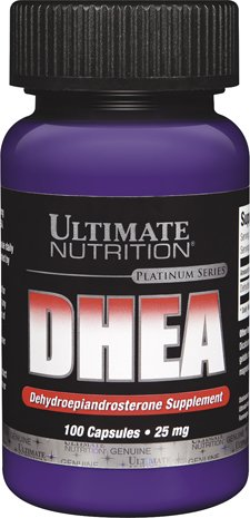 Ultimate Nutrition Platinum Series - DHEA Platinum Series Capsules (25mg)
